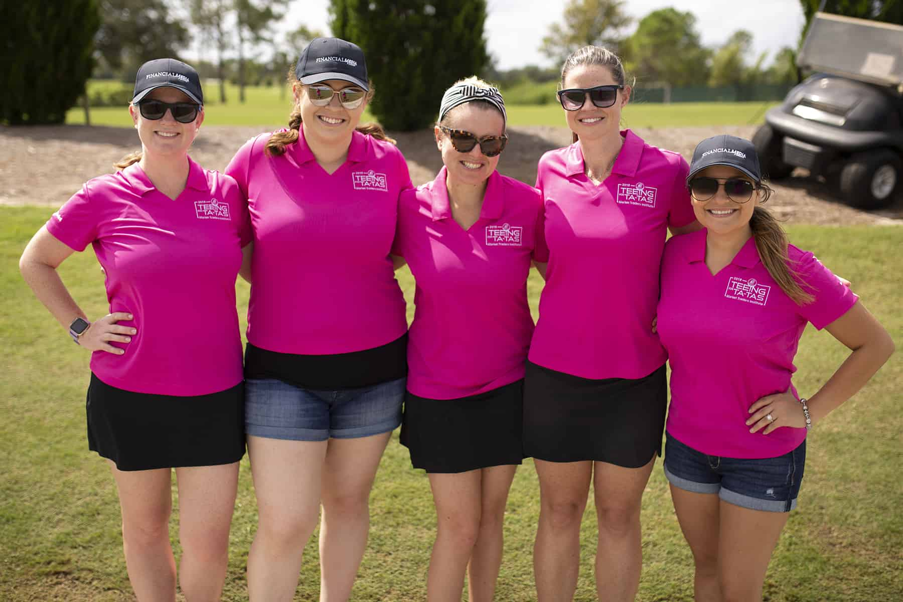 Market Traders Institute Teeing for Ta-tas fundraiser