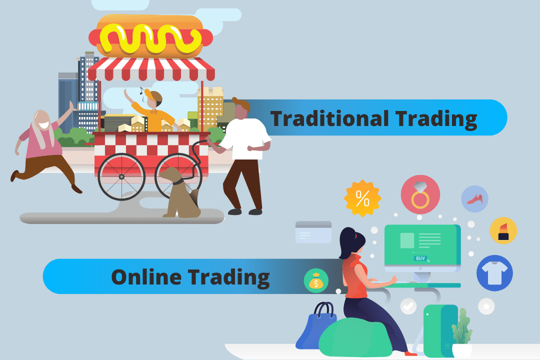 Traditional Trading vs. Online Trading